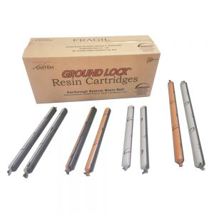 "CARTUCHOS DE RESINA ""GROUND LOCK"""